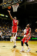 December 28th, 2013:  Georgia Bulldogs sophomore guard Kenny Gaines (12) finds himself wide open for a lay up in the first half of the NCAA Basketball game between the Georgia Bulldogs and the University of Colorado Buffaloes at the Coors Events Center in Boulder, Colorado