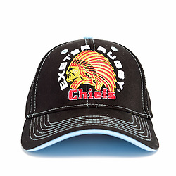 Black Basic Baseball Cap - Ryan Hiscott/JMP - 30/07/2019 - SPORT - Sandy Park - Exeter, England - Exeter Chiefs Club Shop Merchandise