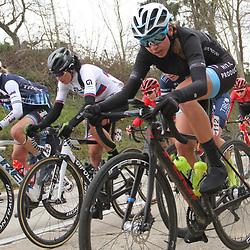 01-03-2020: Wielrennen: Hageland vrouwen: Tielt-Winge: Amalie Lutro