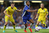 Ruben Loftus-Cheek of Chelsea (c) in action. EFL Cup 2nd round match, Chelsea v Bristol Rovers at Stamford Bridge in London on Tuesday 23rd August 2016.<br /> pic by John Patrick Fletcher, Andrew Orchard sports photography.