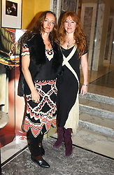 Left to right, ALICE TEMPERLEY and CHARLOTTE TILBURY at the launch of MAC's High Tea collection with leading British designers held at The Berkeley Hotel, London on 17th January 2005.  MAC has collabroated with The Berkeley's Pret-a-Portea, which adds a creative twist to th classic elements of the English afternoon tea with cakes and pastries inspired by fashion designs.<br /><br />NON EXCLUSIVE - WORLD RIGHTS