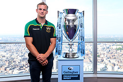 Rory Hutchinson of Northampton Saints at the launch of the 2018/19 Gallagher Premiership Rugby Season Fixtures - Mandatory by-line: Robbie Stephenson/JMP - 06/07/2018 - RUGBY - BT Tower - London, England - Gallagher Premiership Rugby Fixture Launch
