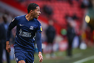 Southend United midfielder Timothee Dieng (8) during the EFL Sky Bet League 1 match between Charlton Athletic and Southend United at The Valley, London, England on 9 February 2019.