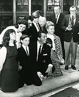 1964 Dean Martin's hand/footprint ceremony at Grauman's Chinese Theater