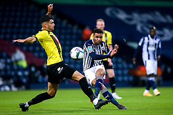 Hal Robson-Kanu of West Bromwich Albion scores a goal to make it 2-0 - Mandatory by-line: Robbie Stephenson/JMP - 16/09/2020 - FOOTBALL - The Hawthorns - West Bromwich, England - West Bromwich Albion v Harrogate Town - Carabao Cup