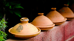 Tagines - the traditional Moroccan cooking pot.<br /> <br /> (c) Andrew Wilson | Edinburgh Elite media