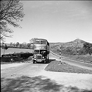 CIE Bus at Scalp/Rock Valley. Co. Wicklow..04/07/1953