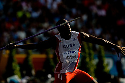 Guillermo Martinez of Cuba competes in the men's Javelin Throw Final during day nine of the 12th IAAF World Athletics Championships at the Olympic Stadium on August 23, 2009 in Berlin, Germany. (Photo by Vid Ponikvar / Sportida)