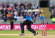 Luke Wright of Sussex on the attack during the Vitality T20 Finals Day Semi Final 2018 match between Worcestershire Rapids and Lancashire Lightning at Edgbaston, Birmingham, United Kingdom on 15 September 2018.