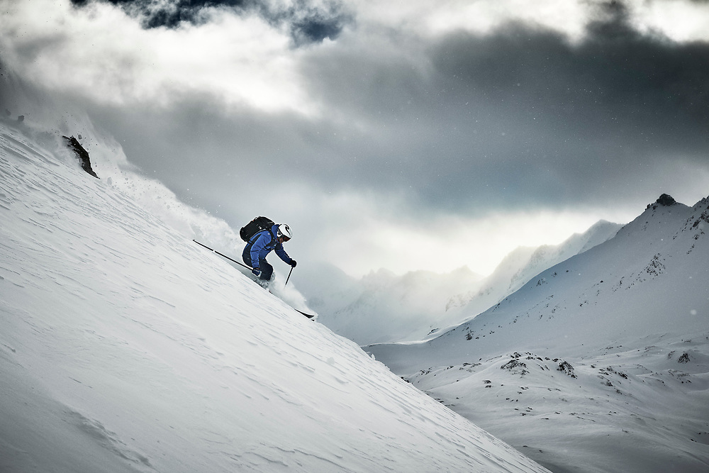 Shot on location in Tignes and Alpe d'Huez, France.