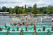 Henley-On-Thames, Berkshire, UK., DOW}, 11.08.21,   Heat of the Thames Challenge Cup, passing the Hole in the wall, Bucks Station Upper Thames RC vs Northwich RC, 2021 Henley Royal Regatta,  [Mandatory Credit © Peter Spurrier/Intersport Images],
