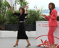 Fanny Ardant and Doria Tillier at La Belle Epoque film photo call at the 72nd Cannes Film Festival, Tuesday 21st May 2019, Cannes, France. Photo credit: Doreen Kennedy