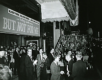 Premiere night at The Pantages Theater