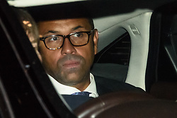 CAPTION CORRECTION © Licensed to London News Pictures. 10/09/2019. London, UK. James Cleverly, Minister Without Portfolia, leaves Parliament after a late sitting in which the government lost a vote to trigger a snap election. Parliament will be now be prorogued, suspended until October 14. Photo credit: Guilhem Baker/LNP