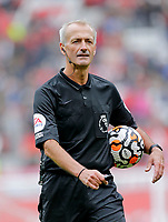 Football - 2021 / 2022 Pre-Season Friendly - Manchester United vs Everton - Old Trafford - Saturday 7th August 2021<br /> <br /> Referee Martin Atkinson, at Old Trafford.<br /> <br /> COLORSPORT/ALAN MARTIN