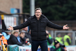 Wycombe Wanderers Manager Gareth Ainsworth complains to the lines man - Mandatory byline: Robbie Stephenson/JMP - 27/02/2016 - FOOTBALL - Adams Park - Wycombe, England - Wycombe Wanderers v Bristol Rovers - Sky Bet League Two