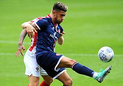 Josh Ginnelly of Walsall controls the ball - Mandatory by-line: Nizaam Jones/JMP- 28/07/2018 - FOOTBALL - Jonny-Rocks Stadium - Cheltenham, England - Cheltenham Town v Walsall - Pre-season friendly