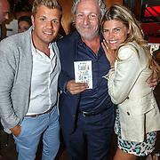 NLD/Amsterdam/20150604 - Boekpresentatie advocaat Mark Teurlings, met Kim Kotter en partner Jaap Reesema