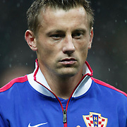 Croatia's Ivica OLIC during their UEFA EURO 2012 Play-off for Final Tournament First leg soccer match Turkey betwen Croatia at TT Arena in Istanbul Nüovember11, 2011. Photo by TURKPIX