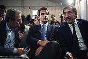 Al centro Raffaele Fitto, politico italiano. Roma, 25 agosto 2012. Christian Mantuano / OneShot