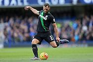 Erik Pieters of Stoke City in action. Barclays Premier league match, Chelsea v Stoke city at Stamford Bridge in London on Saturday 5th March 2016.<br /> pic by John Patrick Fletcher, Andrew Orchard sports photography.