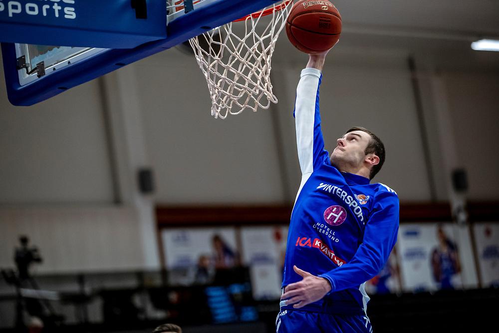 ÖSTERSUND 20210202<br /> Jämtlands Tim Nord under tisdagens match i basketligan mellan Jämtland Basket och Umeå Basket.<br /> Foto: Per Danielsson / Projekt.P
