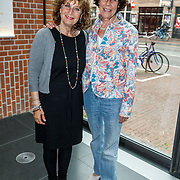 NLD/Amsterdam/20150529 - Uitreiking Johan Kaart prijs 2015, Adrienne Kleiweg en Ellen Röhrman