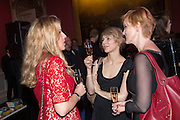 SARAH CHURCHWELL; JESSICA LAMBERT; HEATHER BROOKE, The Literary Review Bad Sex in Fiction Award 2014. The In and Out ( Naval and Military ) Club, 4 St. James's Sq. London SW1. 3 December 2014.