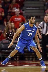 14 November 2016:  Kason Harrell(32) during an NCAA  mens basketball game between the Indiana Purdue Fort Wayne Mastodons the Illinois State Redbirds in Redbird Arena, Normal IL