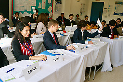 SONY DSC Delegates of UNHCR during debate session 3 UNCSTD Delegates during session 3