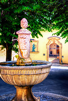 """Fountain of Piazza del Vescovado near Santa Maria Maggiore - Assisi""...<br />