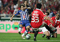 LISBOA 17 OCTOBER  2004: DIEGO #16 and RICARDO ROCHA #33, in the, 6¼ leg of the Super Liga, season 2004/2005, match SL Benfica v  FC Porto, held in Luz stadium, 17/10/2004  19:45<br />(PHOTO BY: NUNO ALEGRIA / AFCD)