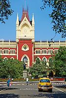 Inde, Bengale Occidental, Calcutta (Kolkata), la Haute Cour// India, West Bengal, Kolkata, Calcutta, the High Court