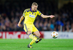 Ales Mertelj of Maribor during football match between Chelsea FC and NK Maribor, SLO in Group G of Group Stage of UEFA Champions League 2014/15, on October 21, 2014 in Stamford Bridge Stadium, London, Great Britain. Photo by Vid Ponikvar / Sportida.com