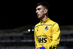 Zain Westbrooke of Bristol Rovers warms up prior to kick off - Mandatory by-line: Ryan Hiscott/JMP - 27/10/2020 - FOOTBALL - Memorial Stadium - Bristol, England - Bristol Rovers v Hull City - Sky Bet League One