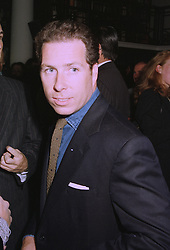 VISCOUNT LINLEY at a party in London on 17th September 1997.MBG 34