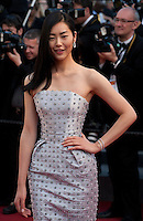 Liu Wen at the gala screening for the film The Little Prince – Le Petit Prince at the 68th Cannes Film Festival, Friday 22nd May 2015, Cannes, France.