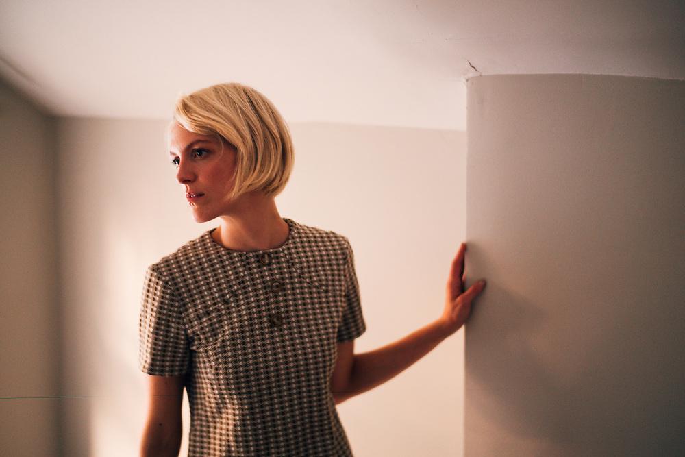 BIRMINGHAM, AL – SEPTEMBER 30, 2019: Portrait of artist, model and hair stylist Alex Smith.