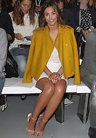 Frankie Bridge, London Fashion Week SS17 - Jasper Conran, BFC Catwalk Show Space, London UK, 17 September 2016