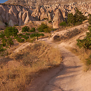 View of the Red Valley in Cappadocia