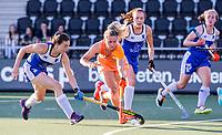 AMSTELVEEN - Laurien Leurink (Ned)  tijdens  dames wedstrijd , Nederland-Schotland (10-0),  bij het EK hockey. Euro Hockey 2021.   COPYRIGHT KOEN SUYK