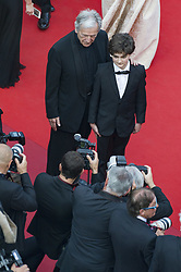 May 25, 2017 - Cannes, France - Costa Gavras, elie  Constantin (Credit Image: © Panoramic via ZUMA Press)