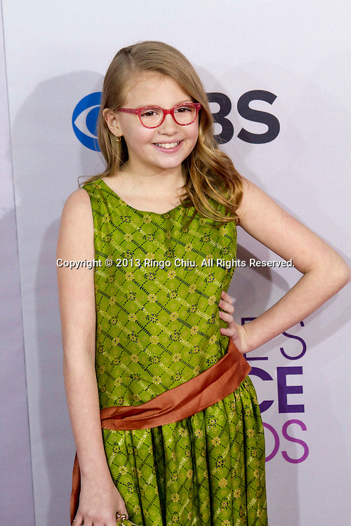 Bebe Wood arrives at the 39th Annual People's Choice Awards at Nokia Theatre L.A. Live on Wednesday January 9, 2013 in Los Angeles, California, United States. (Photo by Ringo Chiu/PHOTOFORMULA.com)
