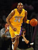 NBA-LA Clippers at Los Angeles Lakers-Apr 13, 2007