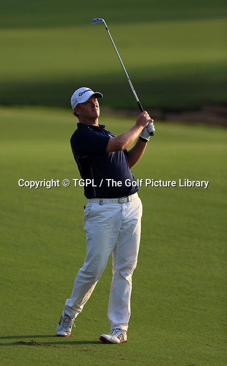 Marcus FRASER (AUS) during third round DP World Tour Championship 2013,Jemeirah Golf Estates, Dubai,UAE.