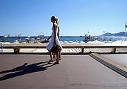 Frankrijk, Cannes, 30-8-2006..Gezicht op zee vanaf La Croisette...Foto: Flip Franssen/Hollandse Hoogte