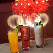 Close up of Philadelphia Style Magazine signature drinks served at Philadelphia Style Magazines's Holiday Party  (Photo by Lisa Lake/Getty Images for Philadelphia Style Magazine)