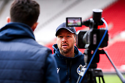 Bristol Rovers manager Ben Garner is interviewed post match at Sunderland - Mandatory by-line: Robbie Stephenson/JMP - 12/09/2020 - FOOTBALL - Stadium of Light - Sunderland, England - Sunderland v Bristol Rovers - Sky Bet League One