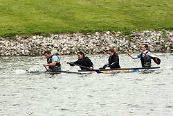 20 April 2012:   Concrete Canoe competition at Eureka Lake