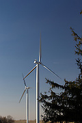 Wind turbines in rural areas are part of the new sustainable energy future of the United States. Wind turbines don't emit any pollution that could contaminate lakes and streams. Modern wind turbines are also elegant, beautiful sculptures that are striking and awe-inspiring.